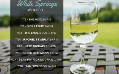 July 2019 Free Live Music at White Springs Winery