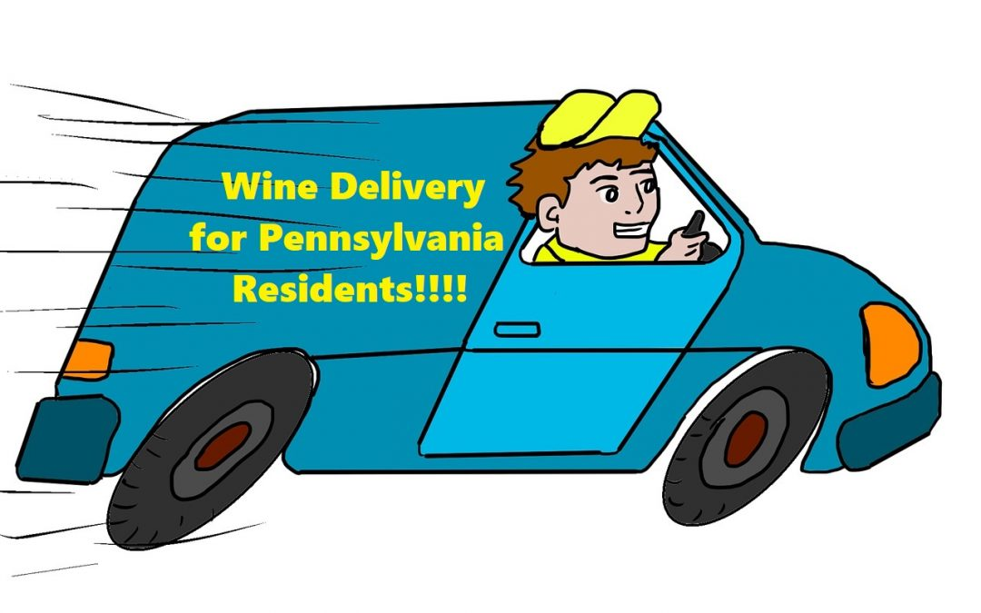 Wine can now be shipped to PA Residents