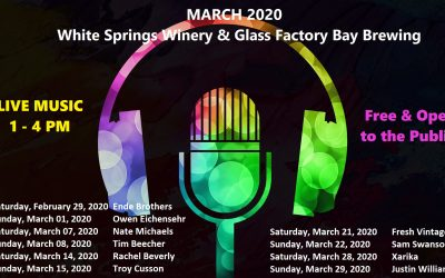 March 2020 Live Music