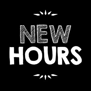 Our Hours – Saturdays Only