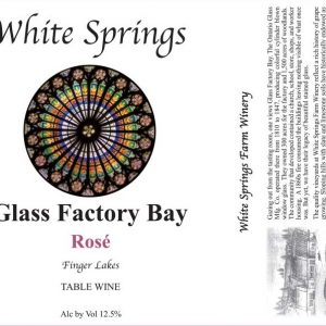 Glass Factory Bay Rose