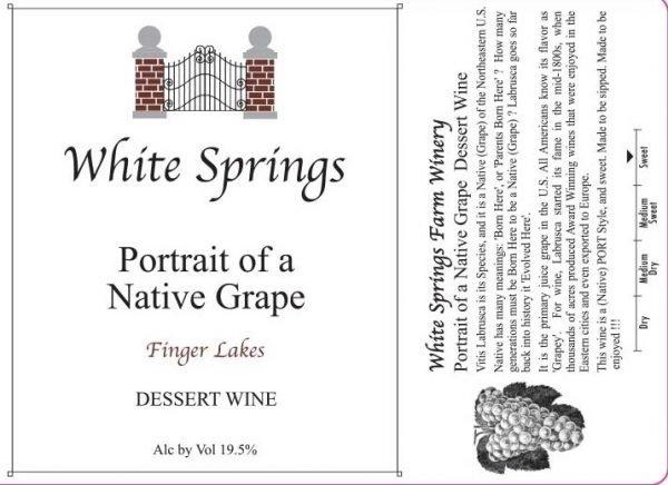 Portrait of a Native Grape